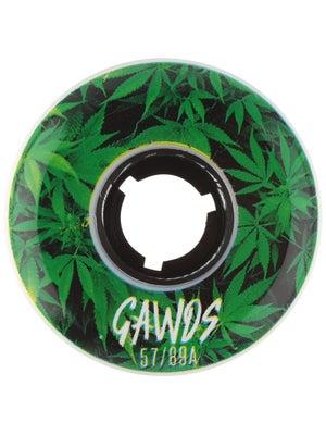GAWDS Team Weed Aggressive Wheels 4pk