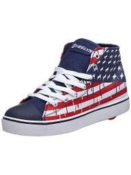 9a8c0fb1b7e4 Heelys Hustle Shoes (778102) - American Flag - Inline Warehouse