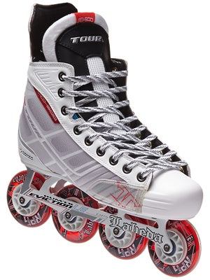 Tour Fish BoneLite 500 WHITE Roller Hockey Skates Jr