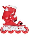 Doop Classic Red Adjustable Inline Skates