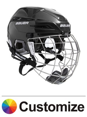 Bauer IMS 11.0 Hockey Helmets w/Cage Custom Colors