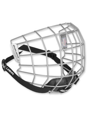 Bauer 2100 Silver Hockey Helmet Cage