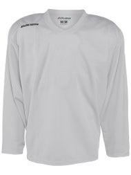 Bauer 200 Practice Jerseys Silver - Ice Warehouse 6071f76cf02