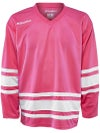 Bauer 600 Classic Hockey Jersey Pink/White Sr