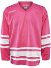 Bauer 600 Classic Hockey Jersey Pink/White Jr