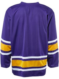 117c535d08a Bauer 600 Classic Jerseys Purple Gold White - Ice Warehouse