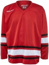 Bauer 600 Classic Hockey Jersey Red/White/Black Jr