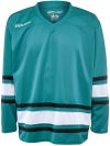 Bauer 600 Classic Hockey Jersey Teal/White/Black Sr