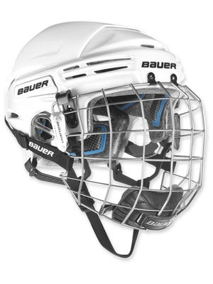 Bauer 7500 Hockey Helmets w/Cage Small
