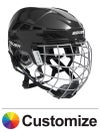 Bauer IMS 7.0 Hockey Helmets w/Cage Custom Colors