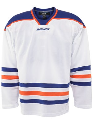 Edmonton Oilers Bauer 800  Uncrested Jerseys Sr SMALL