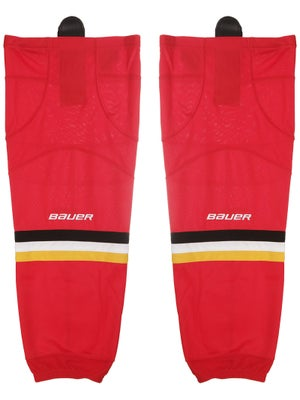 Calgary Flames Bauer 800 Series Socks Sr L/XL