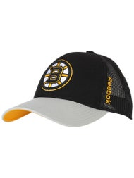 0dd1c6b6dd9 Boston Bruins Reebok Center Ice Meshback NHL Hat - Ice Warehouse