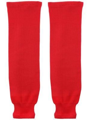 Bauer Core Ice Hockey Socks Red Jr S/M