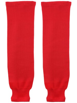 Bauer Core Ice Hockey Socks Red Sr L/XL