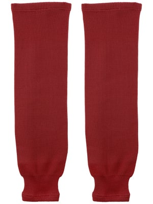 Bauer Core Ice Hockey Socks Wine Sr