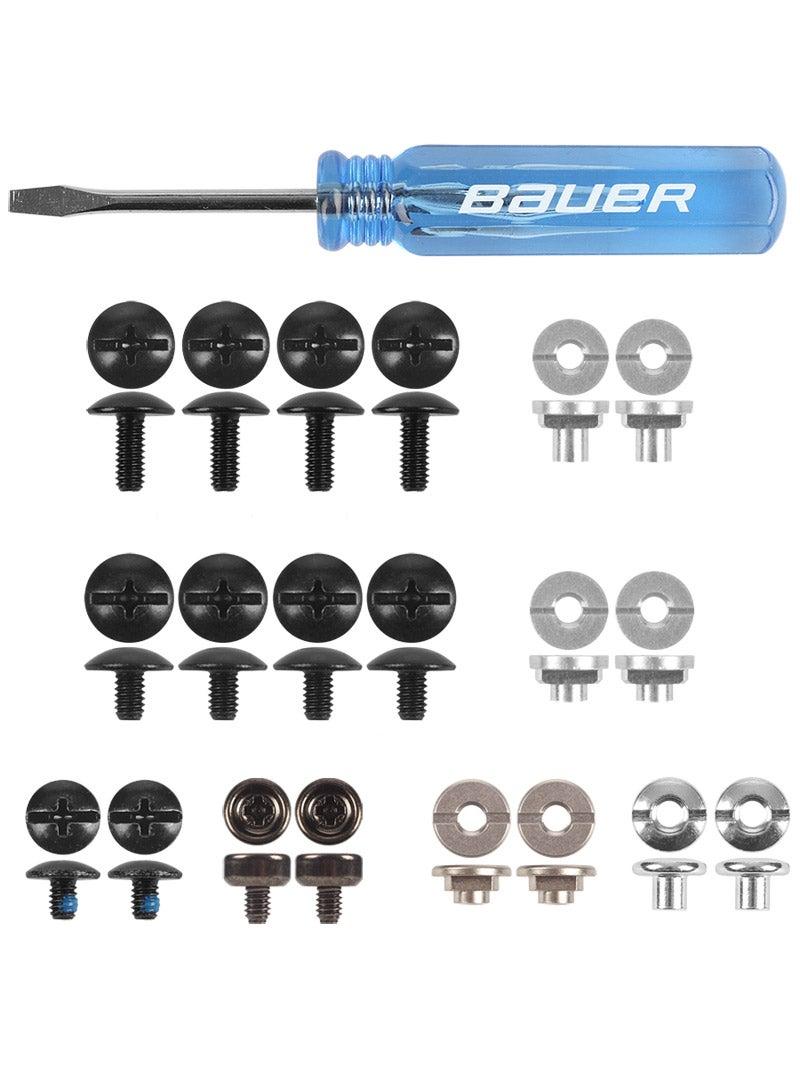 how to fix earpiece on hockey helmet