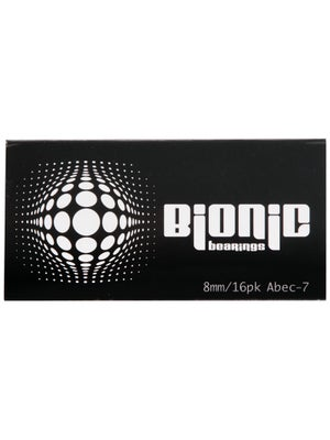 Bionic ABEC7 Bearings 8mm 16pk