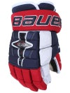 Bauer Nexus 1N 4 Roll Hockey Gloves Sr