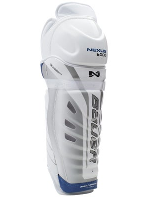 Bauer Nexus 6000 Hockey Shin Guards Jr