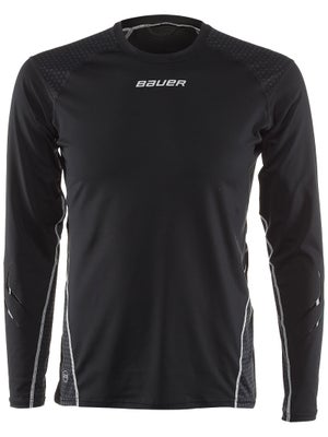 Bauer NG 37.5 Premium Perf L/S Grip Hockey Shirt Jr