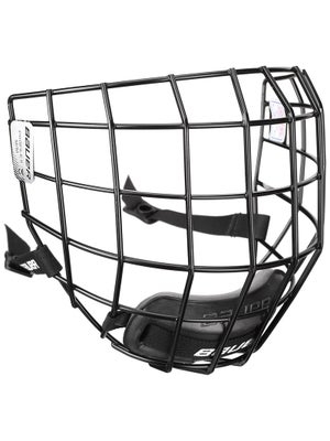 Bauer Profile II Black Hockey Helmet Cage