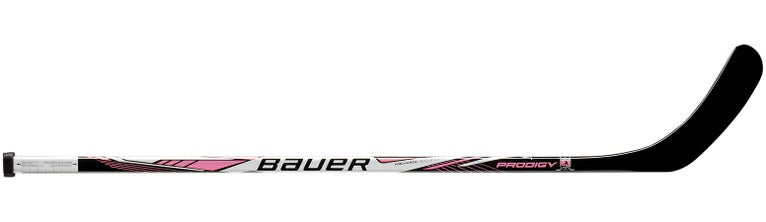 Bauer Prodigy PINK Hockey Sticks Yth Left