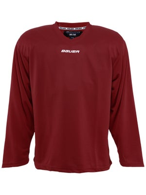 Bauer Core 6001 Practice Hockey Jersey Wine Jr