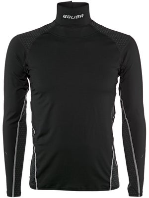 Bauer NG 37.5 Premium NECKPROTECT Perf L/S Shirt Jr