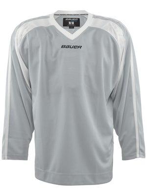 Bauer Premium 6002 Hockey Jersey Silver Jr