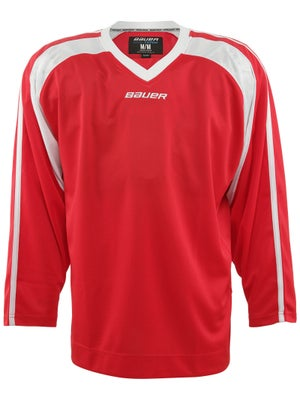 Bauer Premium 6002 Hockey Jersey Red Sr