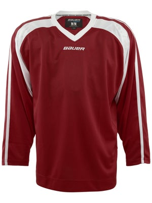 Bauer Premium 6002 Hockey Jersey Wine Sr MEDIUM