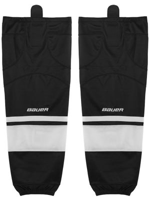 Bauer Premium Ice Hockey Socks Black/White Jr S/M