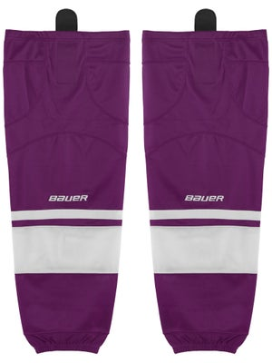 Bauer Premium Ice Hockey Socks Purple Sr