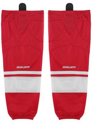 Bauer Premium Ice Hockey Socks Red Jr