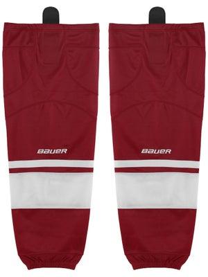 Bauer Premium Ice Hockey Socks Wine Jr