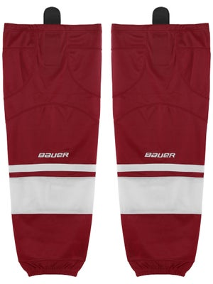Bauer Premium Ice Hockey Socks Wine Sr