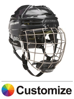 Bauer RE-AKT 100 Hockey Helmets w/Cage Custom Colors
