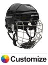 Bauer RE-AKT 75 Hockey Helmets w/Cage Custom Colors