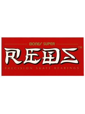 Bones Super Reds Bearings Std 608  8 Pack