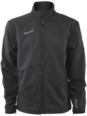 Bauer Soft Shell Full Zip Team Jacket Jr