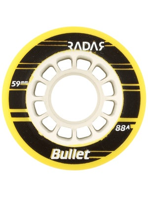 Radar Bullet Wheels 4pk