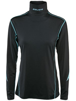 Bauer NG 37.5 Women's NECKPROTECT Perf L/S Shirt