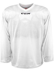 CCM 5000 Practice Jerseys White - Ice Warehouse 6a1b5ef3662