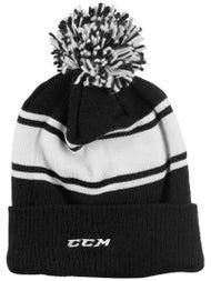fc11cee7a39 CCM Team Fleece Pom Knit Beanie Senior - Ice Warehouse