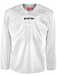CCM 6000 Practice Jersey White Black - Ice Warehouse 7ab3db9e888