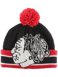 a72c931a0e8 Chicago Blackhawks CCM Cuffed Pom Knit NHL Beanie - Ice Warehouse
