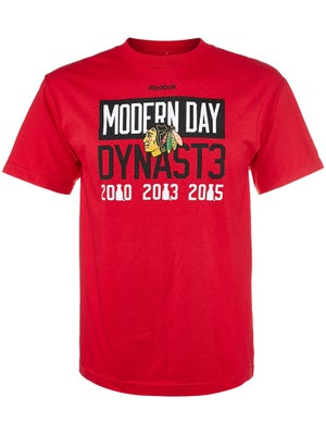 Chicago Blackhawks Reebok NHL Modern Dynasty Shirt Sr 5e2e8c10a