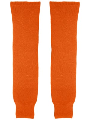 CCM Burnt Orange Ice Hockey Socks Jr & Yth