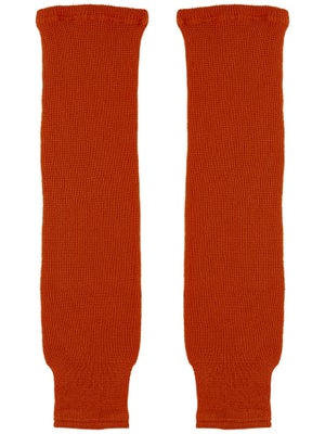 CCM Burnt Orange Ice Hockey Socks Sr